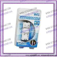 Wii Controller Rechargeable Battery Pack Wii game accessory Manufactures