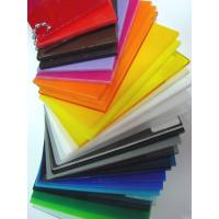 China 3mm clear white and colored cell cast acrylic sheets for sale on sale