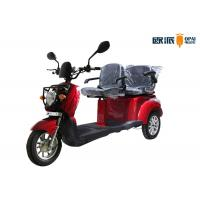 Double Seats Electric Mobility Scooter For Disabled People Round Headlight Manufactures