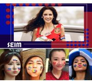 Tattoo Sticker Waterproof 3d Flower Face World Cup Flag Creative Custom Manufactures