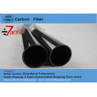 Woven 3K Square Carbon Fiber Tube Twill Glossy Pressure Resistance Manufactures