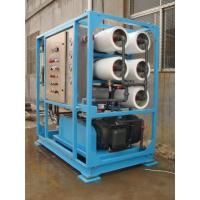 100T/day Reverse Osmosis System Seawater Desalination for Boat Manufactures