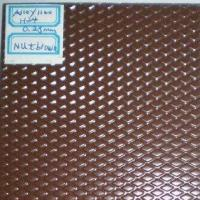 China Stucco Embossed Aluminum Coil for Aluminum Roofing-NUT BROWN on sale