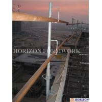 Tubular Safety Scaffold Guard RailQ235 Steel Tube 1.5m Height Prevent Falling Manufactures