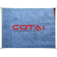 Buy cheap Denim Blue Comfortable Double 5% Alpaca Wool Fabric For Dress / Jacket from wholesalers