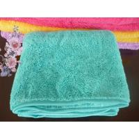 China supplier Microfiber coral fleece towels for bath cleaning Manufactures