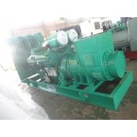 3 Pole MCCB Open Type Diesel Generator Three Phase 400KW 500KVA Manual / Auto Start Manufactures