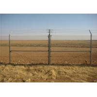 China galvanized chain link fence for sale diamond wire mesh on sale