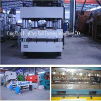 Stone Coated Metal Rood Tile Roll Forming Production Line High Capacity Manufactures