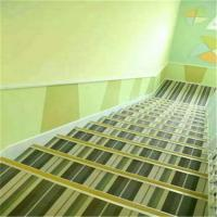 Waterproof Woven Vinyl Flooring , Fire Proof Woven Pvc Flooring For Stairs Manufactures