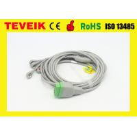 China Integrated GE marquette 5leads  Snap ECG Cable For Patient Monitor on sale