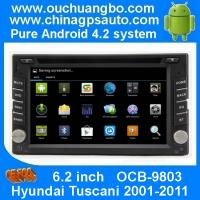 Ouchuangbo DVD Radio Stereo 3G Wifi BT for Hyundai Tuscani 2001-2011 GPS Navigation Android 4.2 System OCB-9803 Manufactures