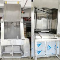 SUS 306 Rotate Spray PCL Control Large Automatic Big Spare Parts Ultrasonic Cleaning Manufactures