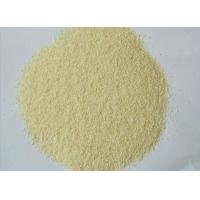 China 80 - 100 Mesh Crop Grade A Fried Garlic Granules Deep Yellow Color 1.6 - 2.2mm on sale