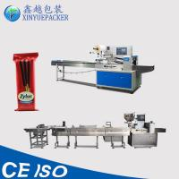 Horizontal Automatic Biscuit Packing Machine , Cookies Packaging Machine Manufactures