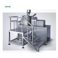 High Efficiency High Speed Granulator , Super Mixer With PLC Control 100L Manufactures