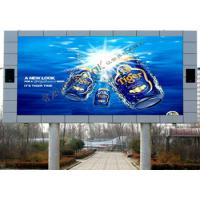 High Brightness P 10 Advertising LED Signs , Electronic Digital Signage Video Wall Manufactures