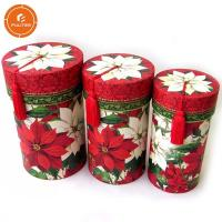 Quality Custom Cylinder Paper Gift Packaging Box , Excellent Gift Tube Box for sale