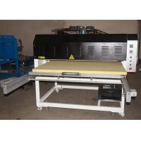 Grand Format Fabric Heat Transfer Press Sublimation Machine With Two Trays Manufactures