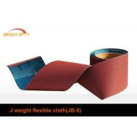1.4m Width Red Adhesive Backed Sandpaper RollsAluminium Oxide For Metal Finishing Manufactures