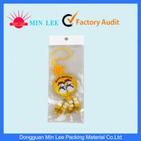 China Custom Transparent OPP  Header Bag With Excellent Moisture Barrier on sale