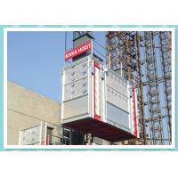 Galvanized Tower Building Hoist Construction Elevator rental hoist Manufactures