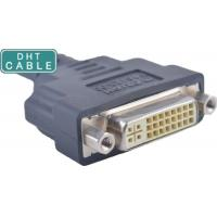 1.0 Meters DVI SCSI Cable , Custom Cable Assemblies Straight Or R / A Molding Type Manufactures