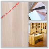 China PP film laminated MDF board EP material on sale