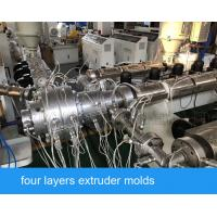 China hot water cold water pipe ppr pipe production line for the diameter 16-63mm on sale