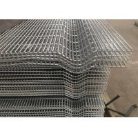 Affordable Galvanized Anti Climb Metal 3 Wave Bends 358 Security Wire Mesh Fence With Barbed Wire Manufactures