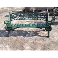 China Outdoor Furniture Moose Metal Park Benches , Cast Iron Garden Chairs For Park on sale