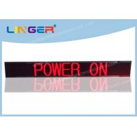 Popular Design Led Scrolling Message Display Board With Weatherproof Frame Manufactures