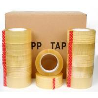 China Custom Logo Printed reinforcement bopp packing tape made in China,Crystal Clear Box Sealing Bopp Tape for Carton Tape Di on sale