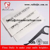 China hotel/restaurant one time use paper bag dental floss picks wholesale