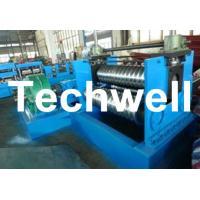 2.0 - 4.0mm Thickness Corrugated Steel Sheet Roll Forming Machine For Silo Wall Panel Manufactures
