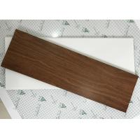 Exterior Soffit Metal Ceiling System C - Shaped Wood Grain Suspended Ceiling Tiles Manufactures