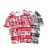 China Funky Sublimation On Cotton Shirts , All Over Print Sublimated Running Shirts on sale