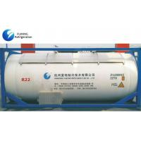 Bulk ISO Tank HCFC Refrigerant Gas R22 For Cooling , HFC Greenhouse Gas Manufactures
