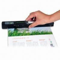 Portable Scanner with Built-in Realtime Scanning Detector to Avoid Distortion Manufactures