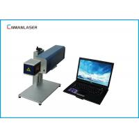 Leather Textile 20w Portable Co2 Laser Marker Machine With Galvo Scanning Head Manufactures
