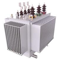 S13 Oil Immersed Transformer , 10/0.4 KV 630 KVA Electrical Power Transformer Manufactures