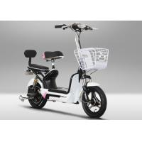 China High Speed 2 Wheeled Pedal Assist Electric Bike Electric Assist Bicycles 25-32km/H 48V 350W on sale