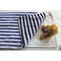 Soft Jacquard Flannel Personalised Baby Blanketsas Winter Gift for Lovely Babies Manufactures