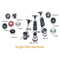 Single Disc Concrete Floor Cleaning Machine / Buffing Floor Polishing Equipment Manufactures