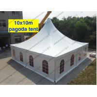 Clear Span Tent High Peak Church Windows Multi - Role For World Expo Show Manufactures