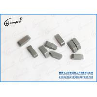China Stable Cemented Carbide Tips / Wood Wooking Tungsten Carbide Cutting Tips on sale