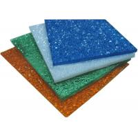 Impact Resistant Colored Polycarbonate Sheets, Embossed Greenhouse Plastic Panels Manufactures
