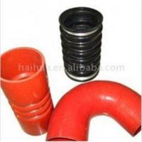 CAC Straight Color 2 Ply Silicone Rubber Hose with Smooth Wipe Down Finish for Automobile Manufactures