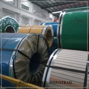 EN 10088-2 1.4509 Stainless Steel Sheet / Coils / Strips 0.6 - 5.0mm BAOSTEEL POSCO Manufactures