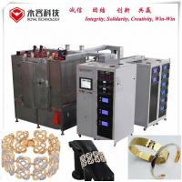 Bracelet  PVD Gold  Coating Machine, Stainles Steel Bracelet Gold Plating Equipment,  PVD Gold Plating Manufactures
